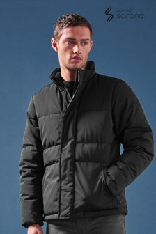 Quilted Funnel Jacket With DuPont™ And Teflon Ecolite™