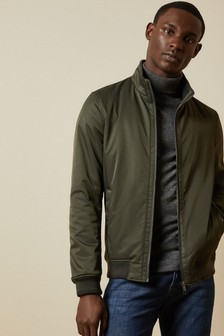 Ted Baker Yeppers Funnel Neck Bomber Jacket