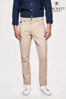 Hackett Brown Trinity Five Pocket Trousers