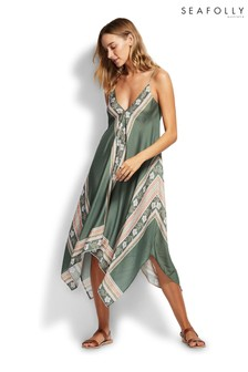 Seafolly® Balinese Retreat Silk Mix Scarf Dress