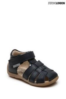 Step2wo Blue Peyton Gladiator Sandals