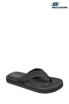 Skechers® Black Tocker Sandals