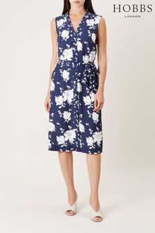 Hobbs Blue Kimberley Dress