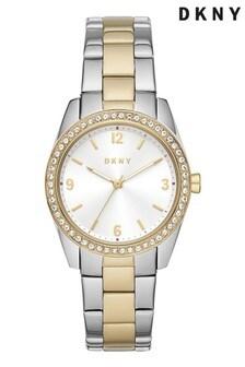 DKNY Nolita Two Tone Watch