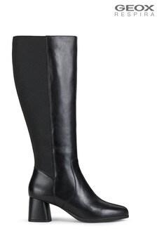 Geox Women's Calinda Black Boots