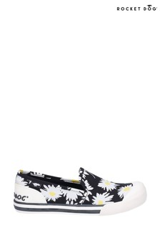 Rocket Dog Black Jazzin Slip Jazzy Slip-On Beach Shoes