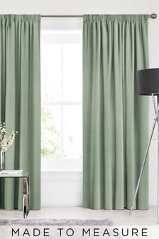 Soho Alpine Green Made To Measure Curtains