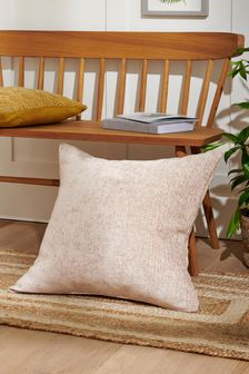Heavyweight Chenille Large Square Cushion