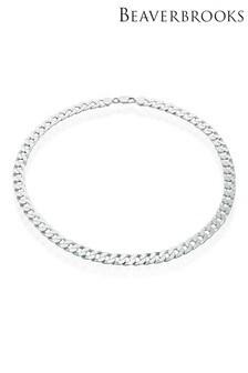 Beaverbrooks Curb Necklace 50cm