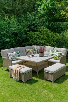 Bergen Large Square Modular Set By LG Outdoor