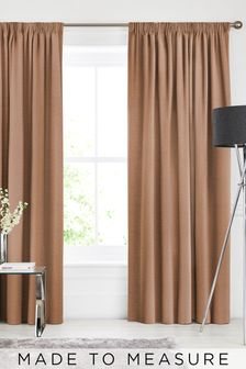 Soho Rust Orange Made To Measure Curtains