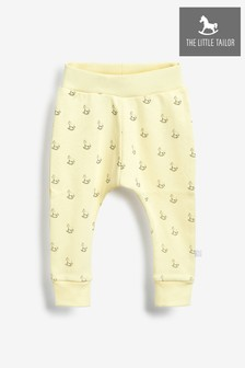 The Little Tailor Lemon Cotton Comfy Pants