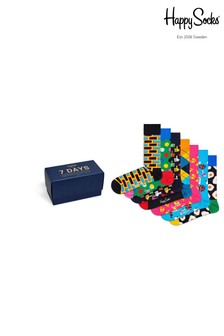 Happy Socks Multi 7 Day Socks Gift Box