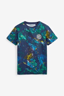 Marble All Over Print T-Shirt (3-16yrs)