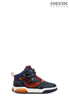 Geox Boy's Inek Blue Shoes