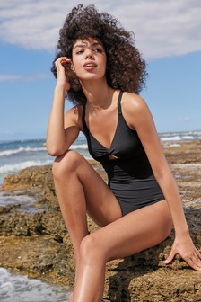Sculpt And Shape Skinny Strap Swimsuit