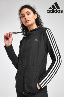 adidas 3 Stripe Full Zip Hoody