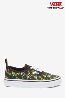 Vans Junior Camo Authentic Trainers