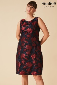 Studio 8 Black Greta Jacquard Dress