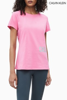 Calvin Klein Performance Branded T-Shirt
