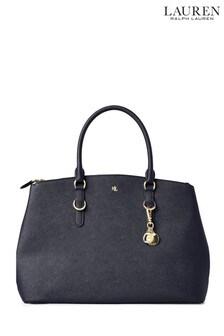 Lauren Ralph Lauren Navy Zip Handbag