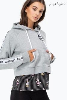Hype. Disney™ Girl Squad Stripe Women's Pullover Hoody