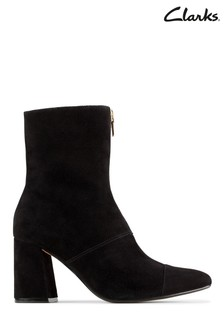 Clarks Black Sde Laina85 Ankle Boots