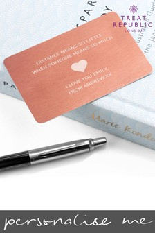 Personalised Wallet Keepsake by Treat Republic