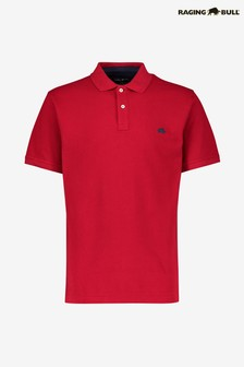 Raging Bull Red Signature Poloshirt
