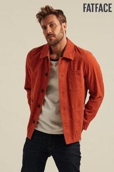 Oranžová bunda FatFace Carbis
