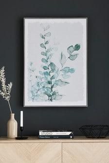 Botanical Framed Canvas