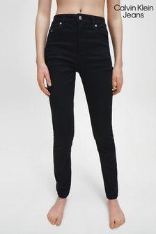 Calvin Klein Jeans Black Ckj 010 High Rise Skinny Jeans