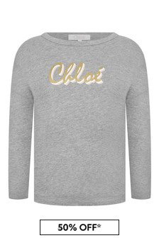 Chloe Kids Girls Cotton Long Sleeve T-Shirt