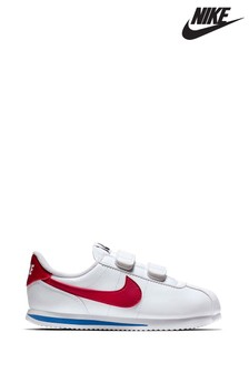 Nike White/Red/Blue Cortez Junior Trainers