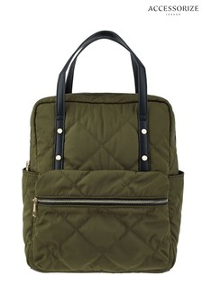 Accessorize Green Emmy Backpack