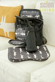 Multi-Compartment Baby Bag Rucksack