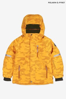 Polarn O. Pyret Yellow Waterproof Ski Padded Jacket