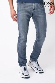 Boss Grey Boss Delaware Slim Fit Jeans