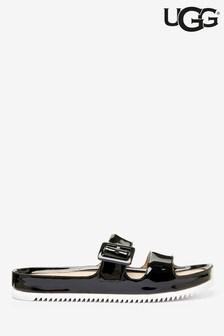 UGG® Lyah Patent Buckle Sandals