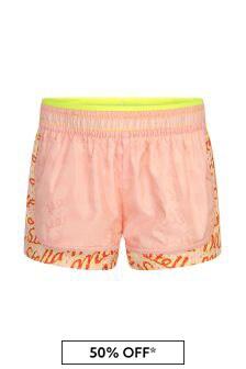 Stella McCartney Kids Girls Pink Shorts
