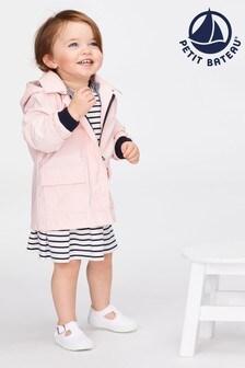 Petit Bateau Pink Wax Coat