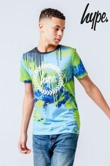 Hype. Neon Spray T-Shirt