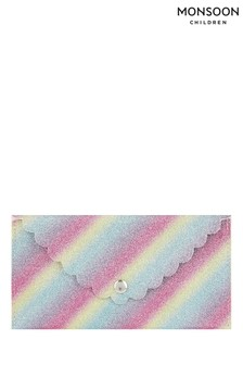 Monsoon Natural Rainbow Glitter Sunglasses Case