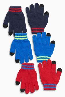 Gloves Three Pack (Older)