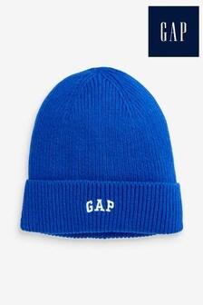 Gap Blue Logo Beanie Hat