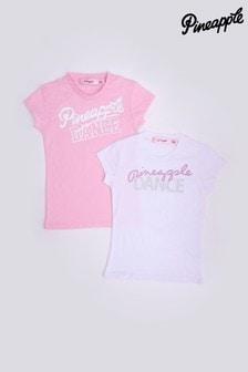 Pineapple Dance Logo T-Shirts 2 Pack