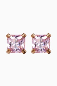 Cubic Zirconia Stud Earrings