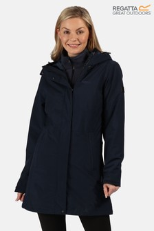 Regatta Blue Denbury 3-In-1 Waterproof Jacket