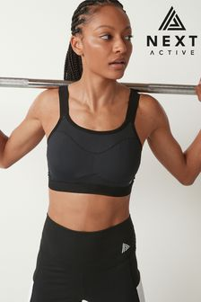 DD+ Non Padded Wired Minimising Sports Bra