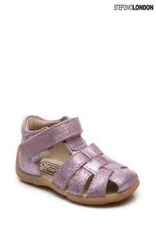 Step2wo Pink Peyton Gladiator Sandals